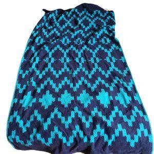 Mainstay Beach Towel Southwest Blue